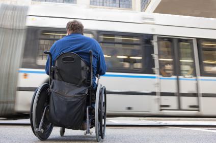 Transport für Behinderte